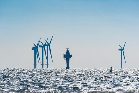 Energía eólica marina en 2020